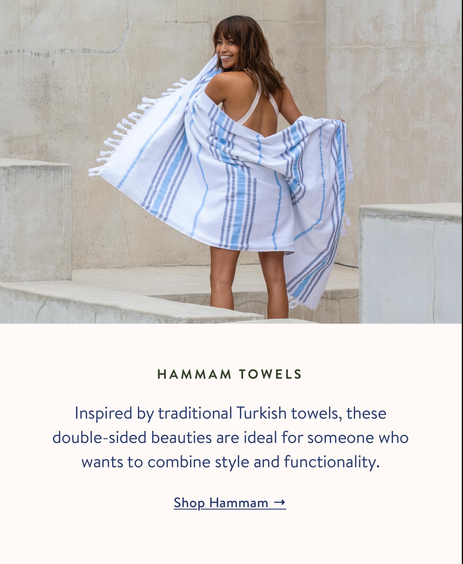 Shop our Hammam Towels