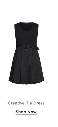 Creative Tie Dress