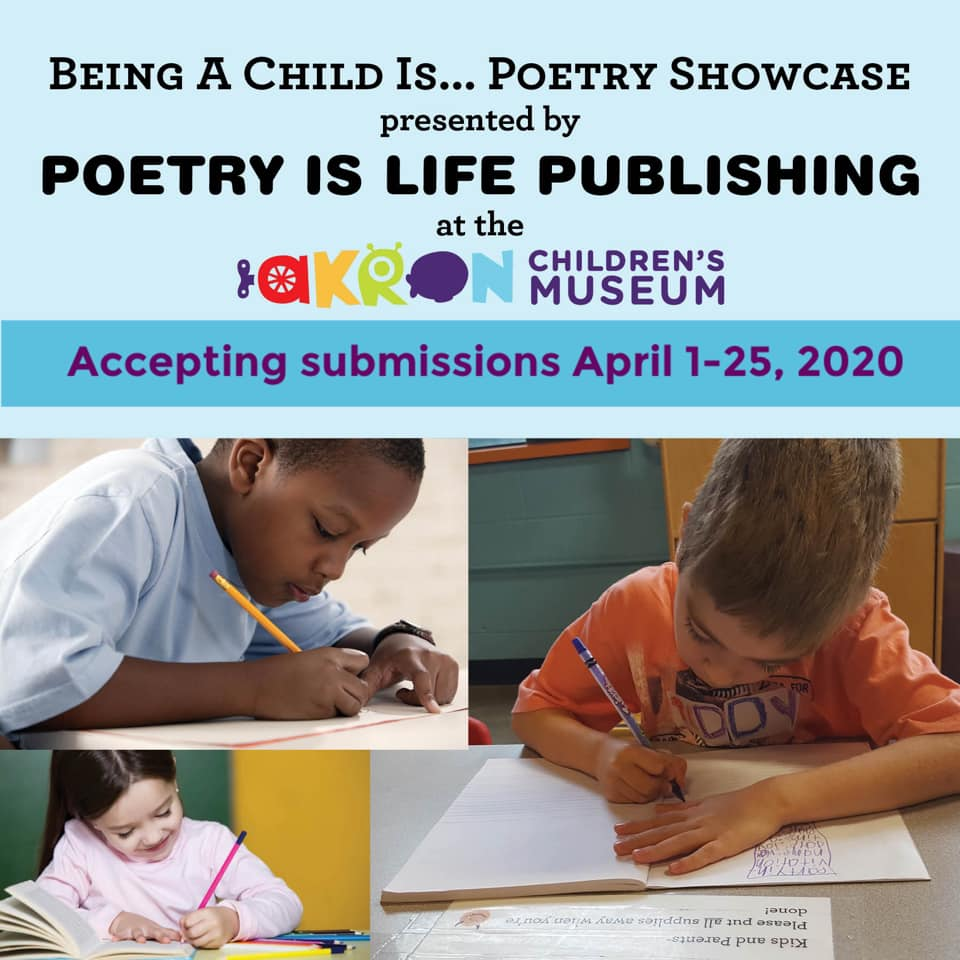 Being a Child is National Poetry Month Showcase