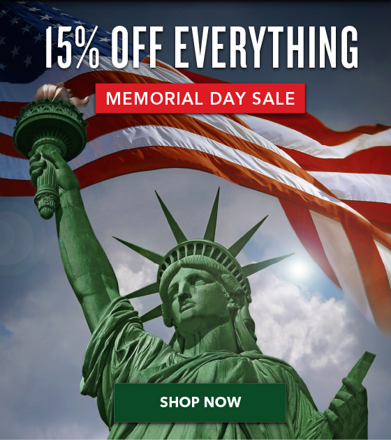 15% OFF Everything - Spring Sale