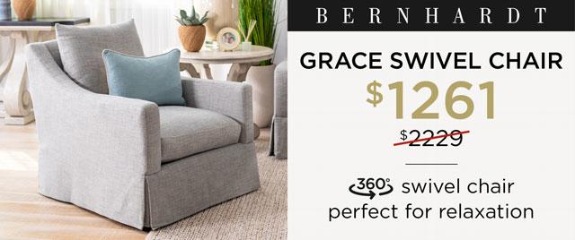 Grace Swivel Chair - $1261