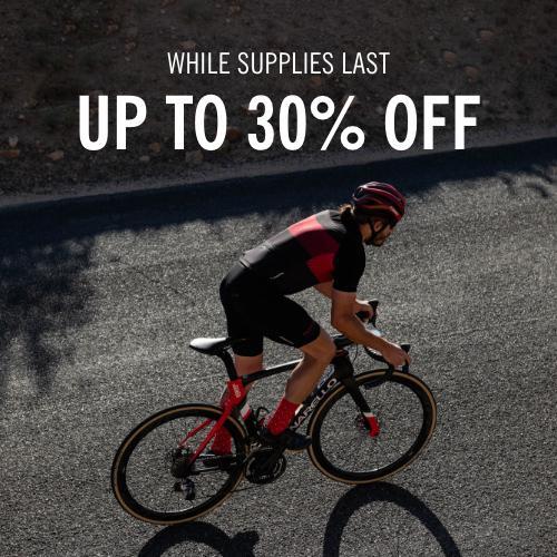 Road Cyclist riding wearing a Giro kit