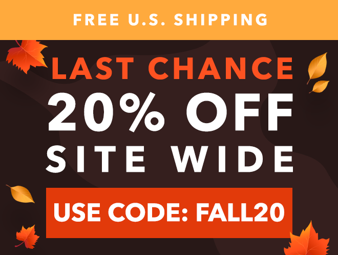 Last Call - 20% off Sitewode