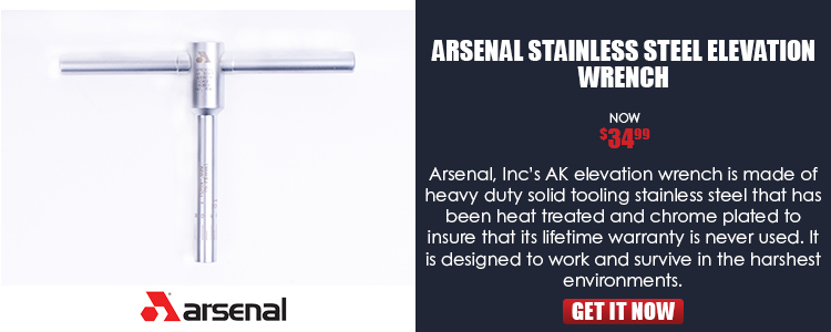 Arsenal Stainless Steel Elevation Wrench