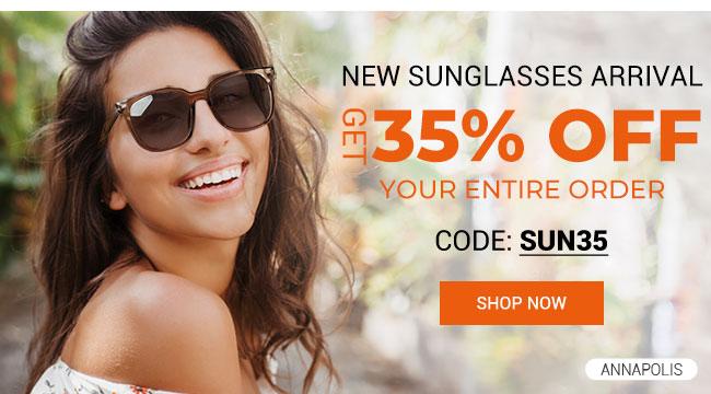 New sunglasses arrival