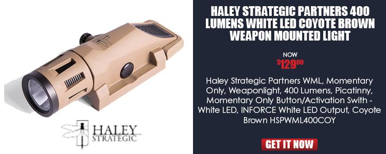 HALEY INFORCE WML COY WHT LED MOMENT