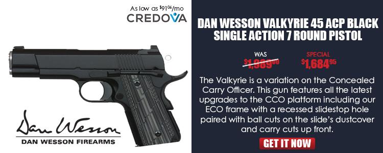 Dan Wesson Valkyrie 45ACP Black NS - 01966