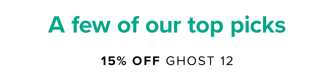 15% off GHOST 12