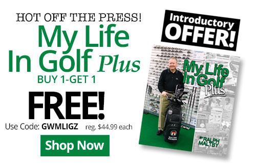 My Life In Golf Plus - Buy 1 Get 1 Free