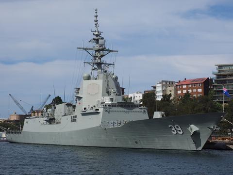 ALK 612 HMAS Hobart