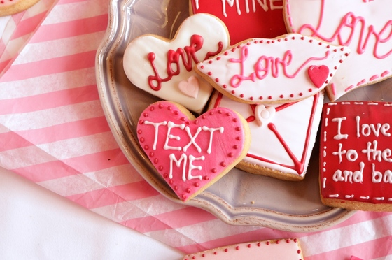 Valentine Treats at Corner Cafe