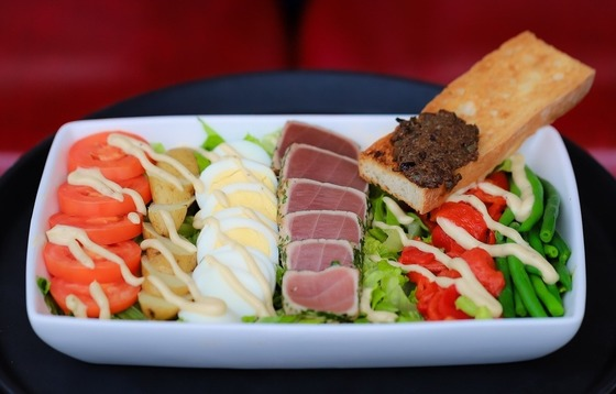 Buckhead Diner's Seared Ahi Tuna Nicoise