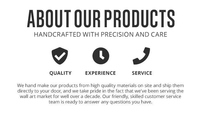 Learn more about our products