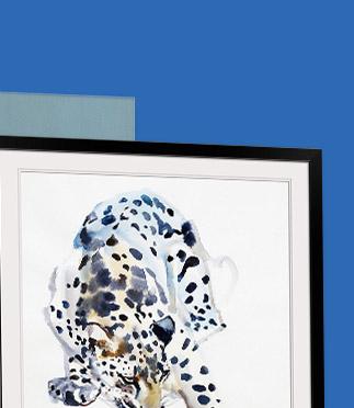 Arabian Snow Leopard by Mark Adlington