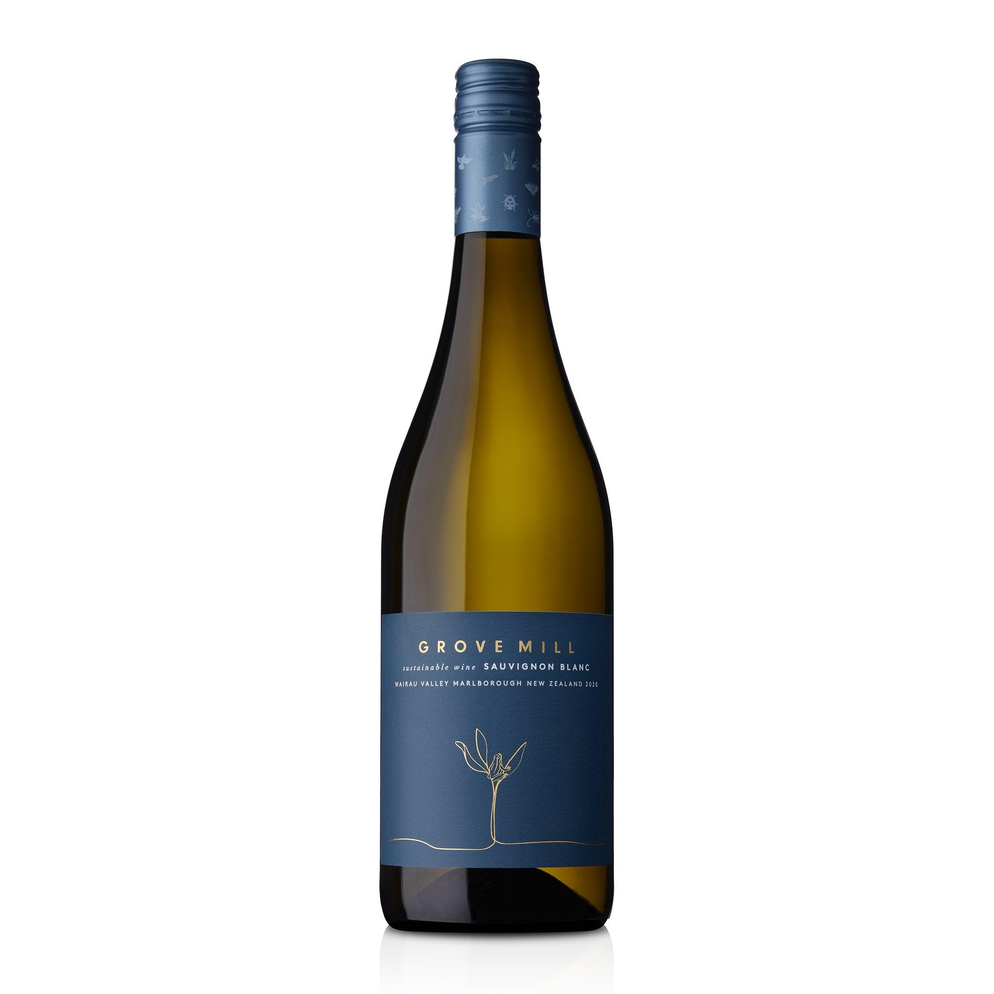 Grove Mill Sauvignon Blanc 2020 12 Bottles