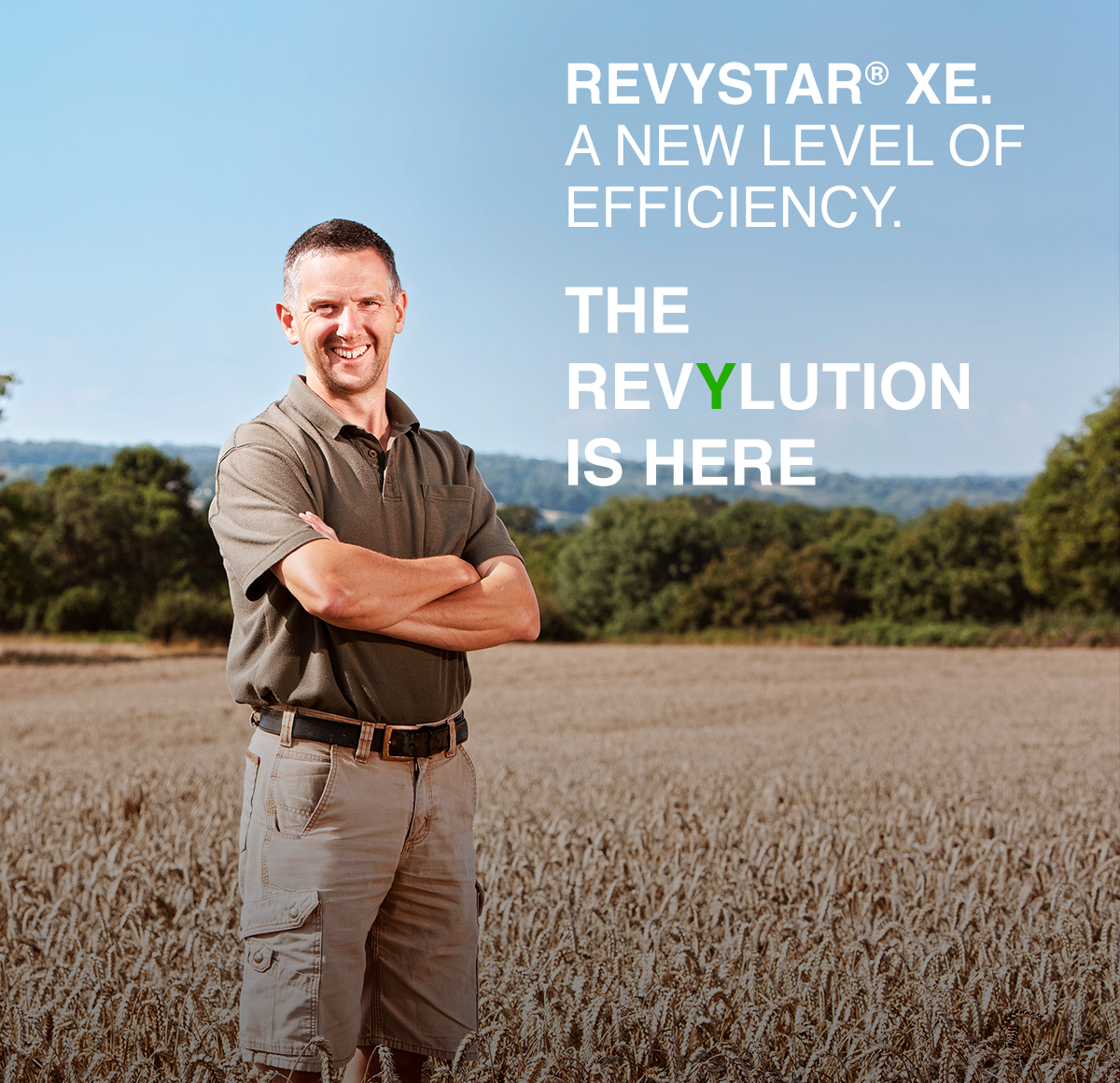 Revystar XE. A new level of efficiency. The Revylution is here