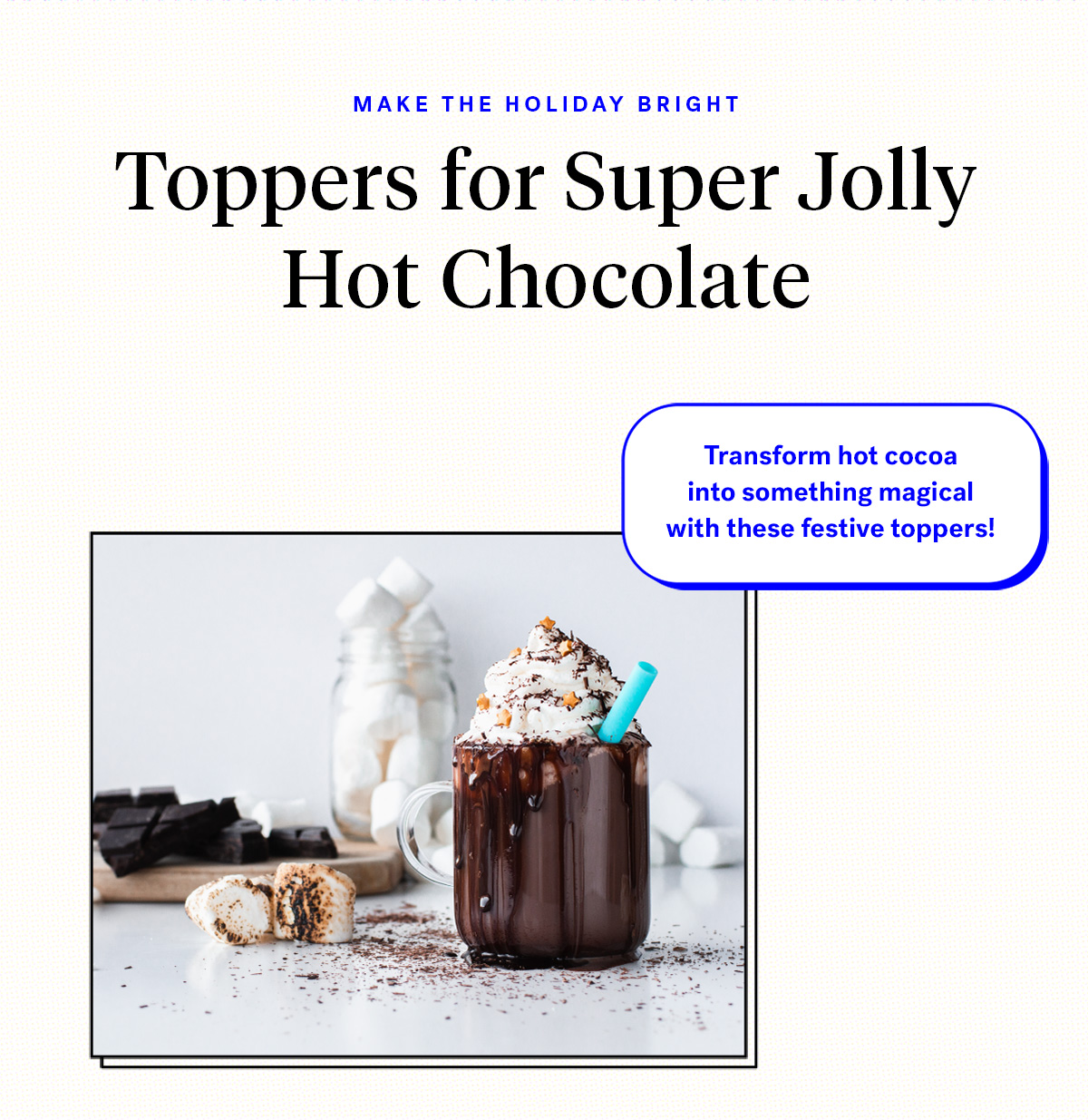 Make the holiday bright