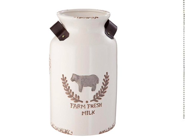 Farm Fresh Milk Jug Vase