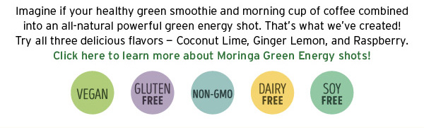 Moringa Green Energy Shots description