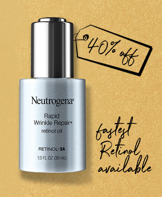 40% OFF FASTEST RETINOL AVAILABLE