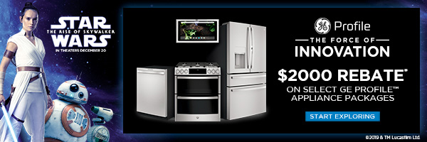 Save $2000 on select GE Profile appliances
