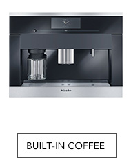 Shop Miele built-in coffee