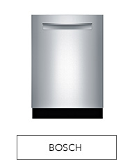 Shop Bosch dishwashers