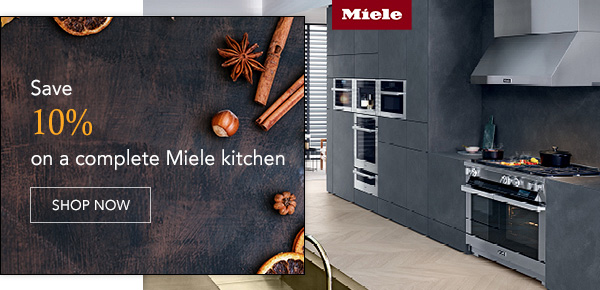Save 10% on a complete Miele kitchen