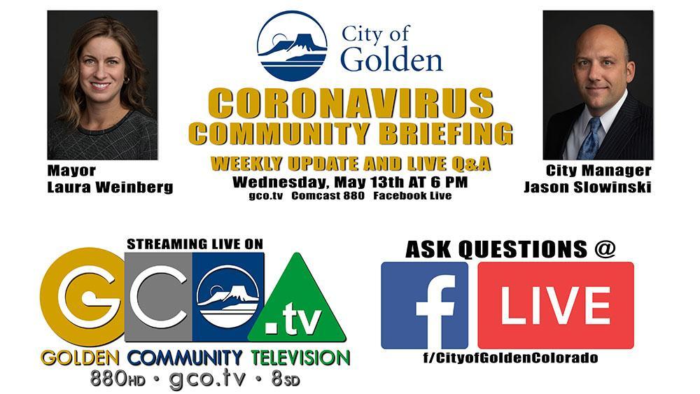 Coronavirus Community Briefing May 13 2020