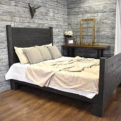 Platform Bed - Mason, Wood Headboard, Platform Bed Queen, Wood Bed Frame,