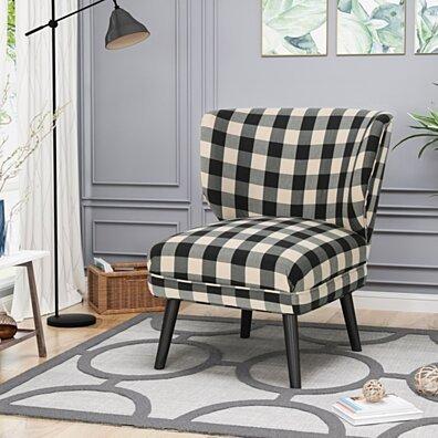 Roger Modern Farmhouse Accent Chair