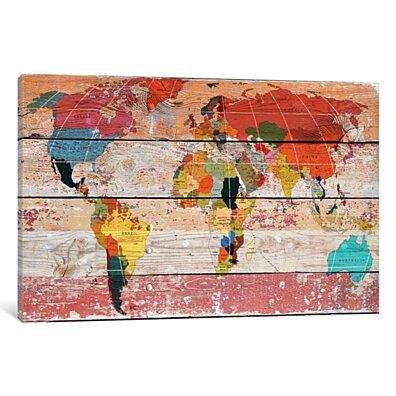 World Map by Irena Orlov