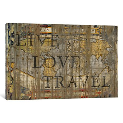 Live Love Travel by Diego Tirigall