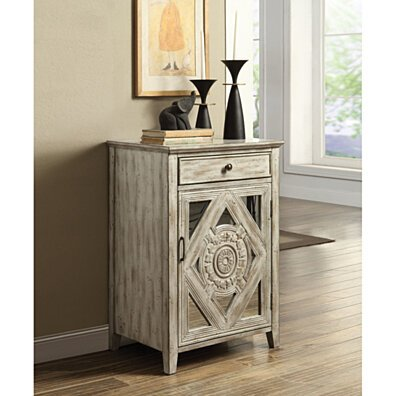 Stylish Side Table, Antique White