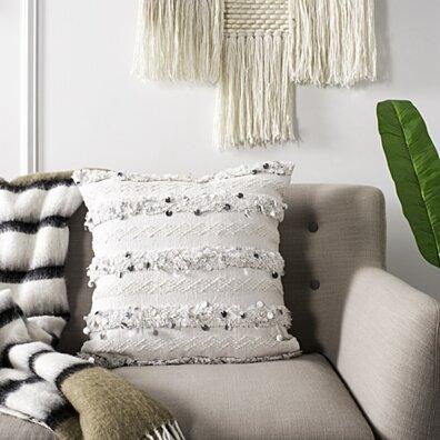 Collette Pillow White