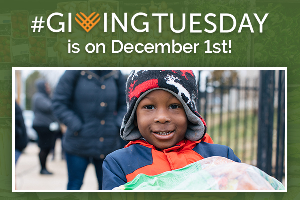 #GIVINGTUESDAY is on December 1st!
