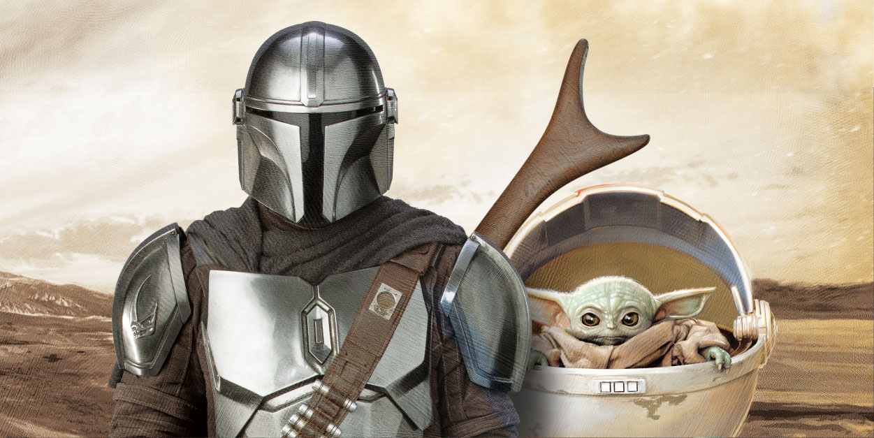 See All Four Mandalorian Inspired Designs