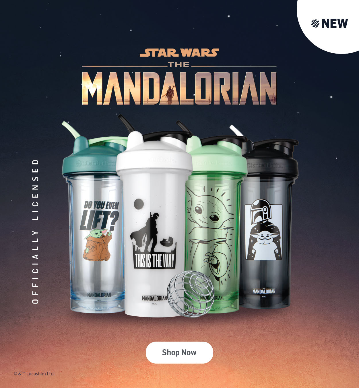 The Mandalorian Shakers Available Now