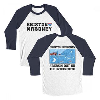 Briston Maroney - Freakin Out On The Interstate Raglan T-Shirt Image
