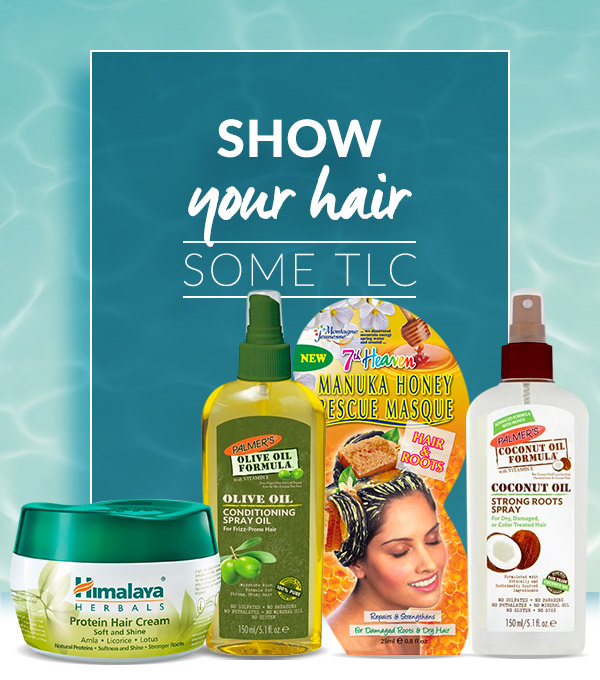 Show your hair some TLC