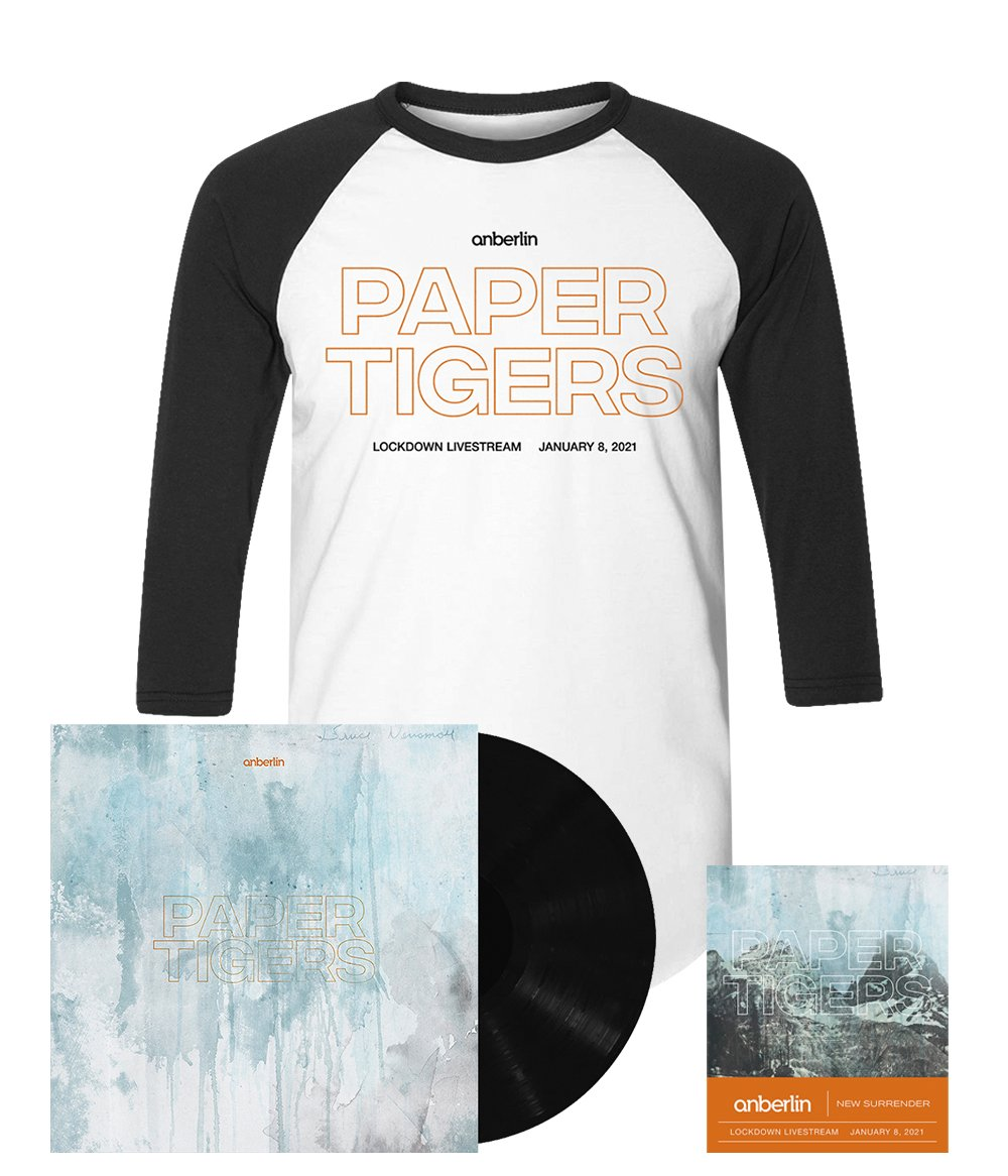 Anberlin We Are The Lost Ones Bundle #4 *PREORDER SHIPS 8/31