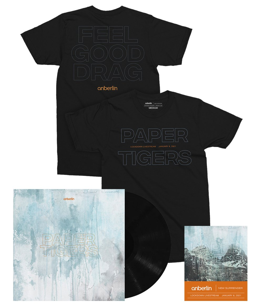 Anberlin We Are The Lost Ones Bundle #2 *PREORDER SHIPS 8/31