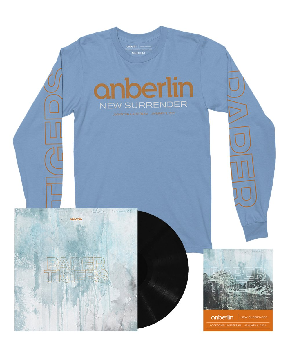 Anberlin We Are The Lost Ones Bundle #3 *PREORDER SHIPS 8/31