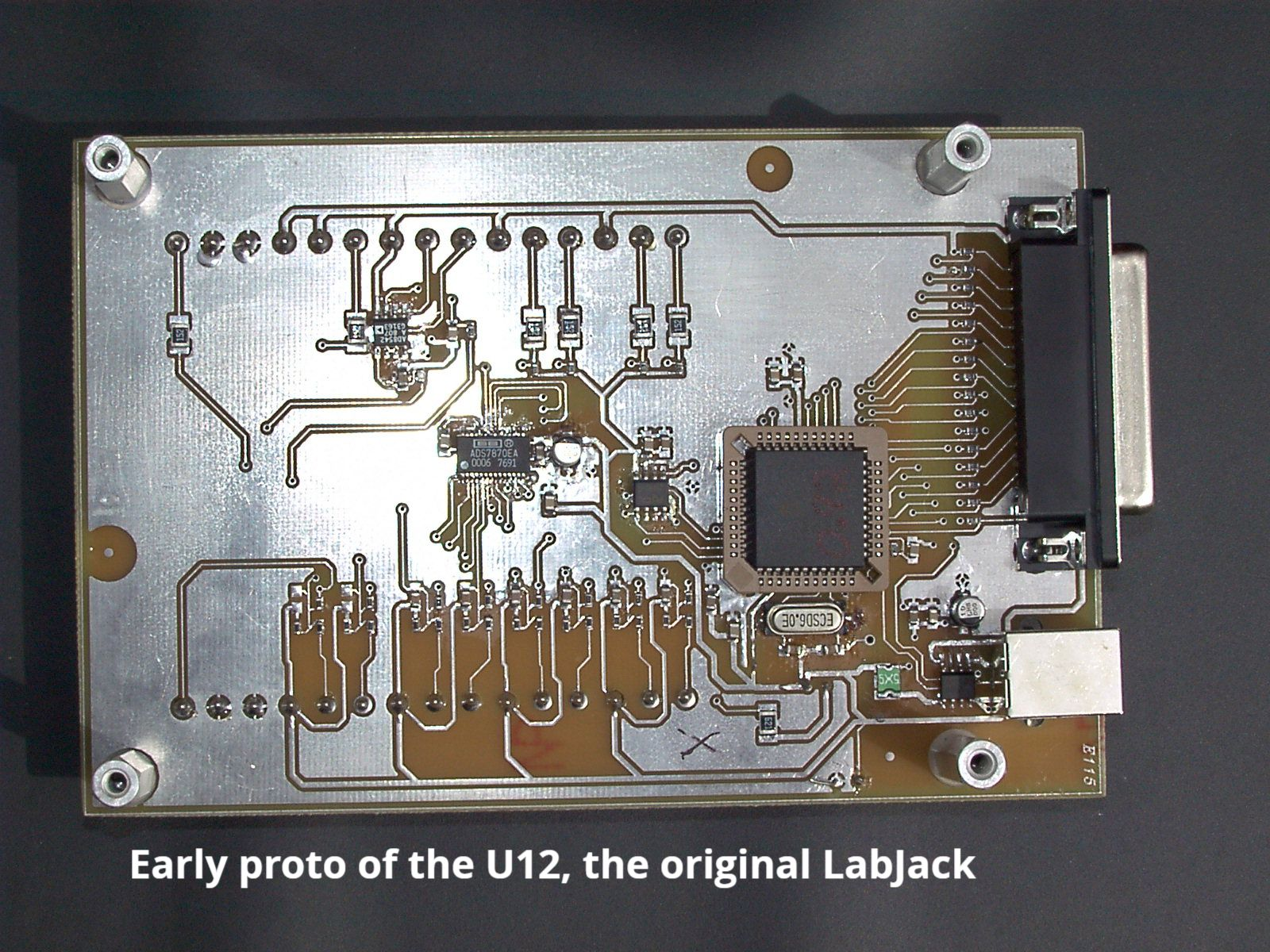 An early prototype of the U12, the original LabJack