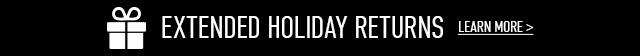 Extended Holiday Returns