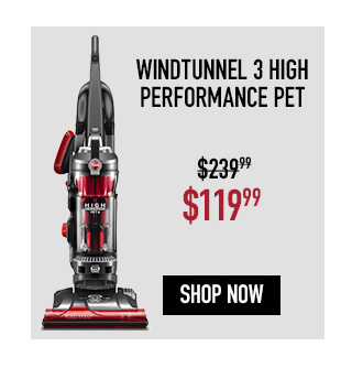 Hoover Windtunnel 3 High Performance Pet Upright Vacuum