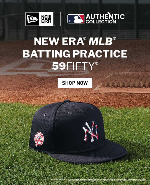 The Official On-Field Cap Of The MLB