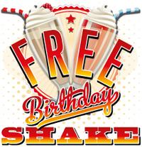 Free Birtdhay Shake