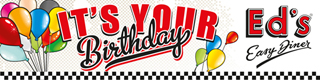 Ed's Easy Diner - Happy BIrthday