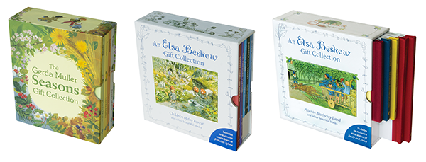 Gerda Muller Seasons Gift Collection, Elsa Beskow Gift Collection: Peter in Blueberry Land, Elsa Beskow Gift Collection, Children of the Forest